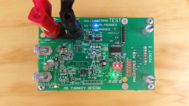 All positively tested boards get ID stored in to microprocessor EEPROM